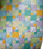 baby quilt layout