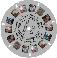 Viewmaster Reel: Adrian's Birth Announcement
