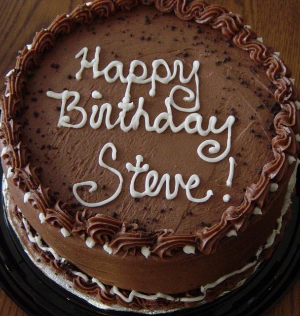 Steve's Birthday Cake